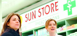 Acquisition of Sun Store and OM Pharma